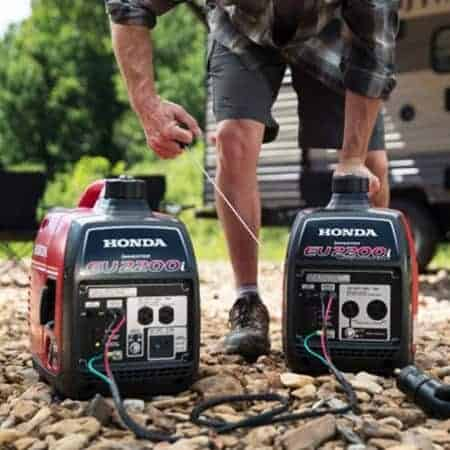 how to parallel two honda generators