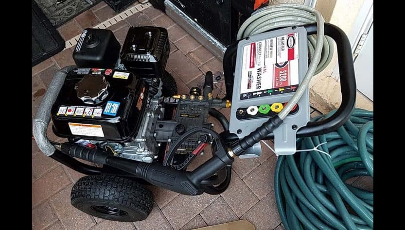Simpson PS3228 Powershot Gas Pressure Washer