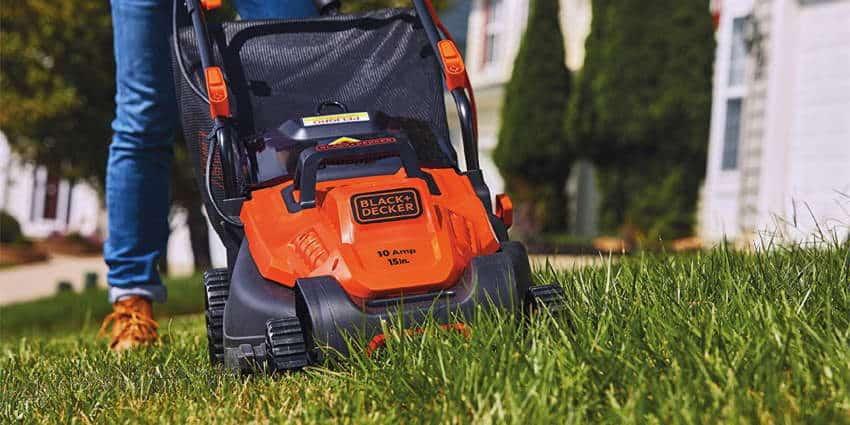 Black+Decker 15 inch Electric Lawn Mower