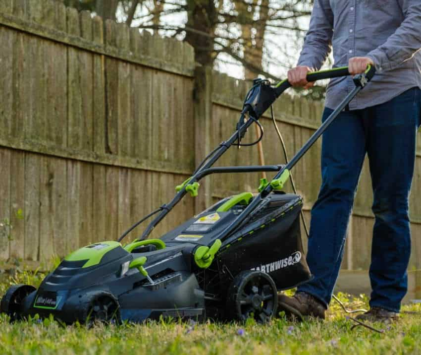 earthwise 50519 electric lawn mower