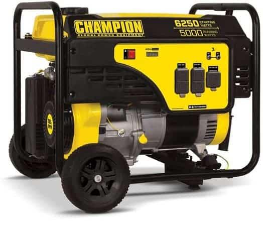 Champion 5000-Watt Portable Generator - 5000 watt generator