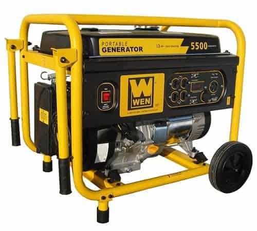 Wen 56551 - 5000 watt propane generator
