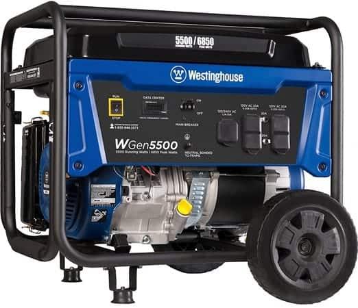 Westinghouse WGen5500 - 5000 watt portable generator