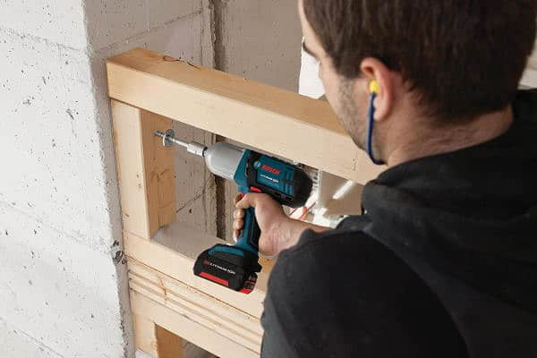 Bosch Cordless Impact Wrench framing view